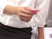 Ichika Kanhata naughty Asian milf is giving arousing blowjob