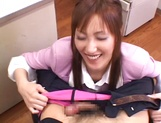 Shinju Murasaki blows a massive stiff wang properly picture 11