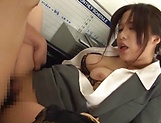 Kiriyama Anna gets her vagina screwed amazingly