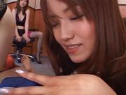 Naughty office fun as Matsuno is nailed