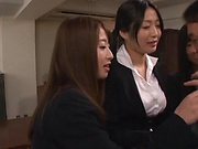 Massive cock that hot office ladies can share