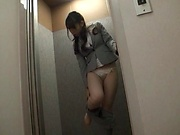 Mio Kayama gets smashed in the office