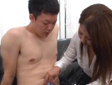 Superb office sex involving hot japanese babe picture 15