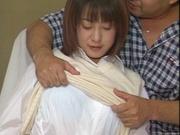 Alluring Japanese schoolgirl is amazing when she fucks