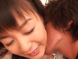 Japanese milf Nana Nanami gets filmed while sucking and fucking picture 10