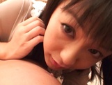 Japanese milf Nana Nanami gets filmed while sucking and fucking picture 24