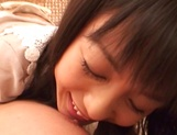 Japanese milf Nana Nanami gets filmed while sucking and fucking picture 25