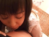 Japanese milf Nana Nanami gets filmed while sucking and fucking picture 29