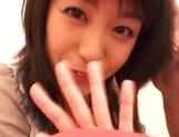Japanese milf Nana Nanami gets filmed while sucking and fucking