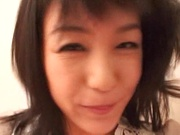 Japanese milf Nana Nanami gets filmed while sucking and fucking