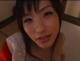 Sexy adoring asian milf sucks and rides pretty well picture 13