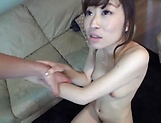 Serious POV amateur video with a slim Asian beauty picture 103