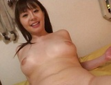 Busty Asian chick Ai Takeuchi loves cock in her hairy pussy