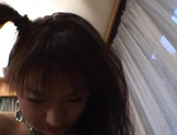 Curvaceous Mai Hagiwara banged and cummed on picture 107