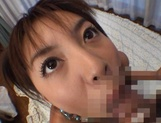Curvaceous Mai Hagiwara banged and cummed on picture 72