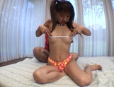 Curvaceous Mai Hagiwara banged and cummed on picture 8