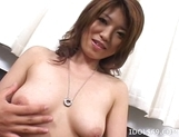 Reiko Yabuki Fingering Pussy Asian Tramp Enjoys Her Solo Performance