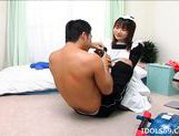 Riko Morihara Playing Maid And Getting A Good Fucking picture 12