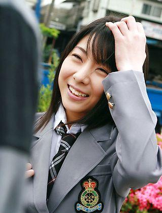 Rin Hayakawa Naughty Schoolgirl Enjoys Getting Her Picture Taken