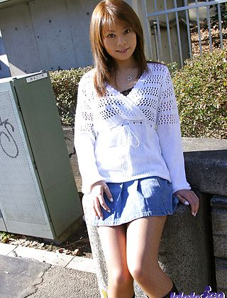 Rion Hot Japanese Tramp Likes Her Fishnets and Naked Showering