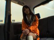 Racing Queen Miyu Nakai Teases Her Driver on the way to a Shoot