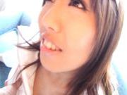 Innocent Looking Racing Queen Marin Minami gets Covered In Cum