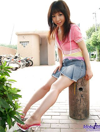 Saki Is An Adorable Japanese AV Model With A Real Hot Pussy