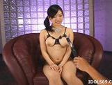 Saya Misaki Asian Beauty Shows Off Her Big Tits picture 12