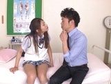 Curious Japanese college teen Sarii Aisahara experiences cock riding picture 8
