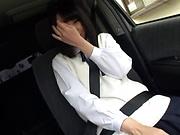 Picked up Japanese teen Miu Mizuno, fucked on the back seat