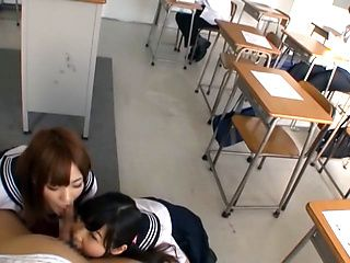 Nice Japanese teen gives hot pov blowjob