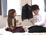 Lovable Yuuki Seri plays with a dick in her cunt picture 14