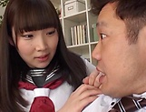 Naughty schoolgirl loves to be banged hard picture 5