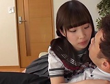 Naughty schoolgirl loves to be banged hard