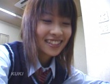 Schoolgirl Aika Hoshizak fucked by teacher for better grades picture 1