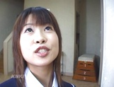 Schoolgirl Aika Hoshizak fucked by teacher for better grades