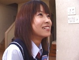 Schoolgirl Aika Hoshizak fucked by teacher for better grades picture 6