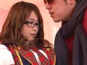 Japanese schoolgirl pumped in exchange for better grades