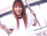 Mao Andoh enjoys getting toyed well in the gym