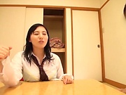 Superb Asian chick bonking with her boyfriend