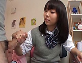 Cute Tokyo schoolgirl has the time of her life picture 11