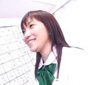 Asian schoolgirl sucks cock to pass an exam