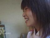 Amateur sex video with schoolgirl, Aika Hoshizaki picture 13