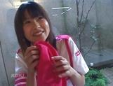 Amateur sex video with schoolgirl, Aika Hoshizaki picture 15