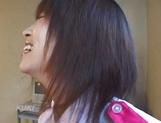 Amateur sex video with schoolgirl, Aika Hoshizaki