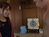 Pretty Hagesawa Rui gets her holes rammed hard.