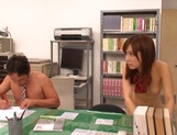 Naughty chemstry lesson with horny teen Minami Kojima