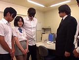 Naughty Haruki Karen services multiple dicks picture 15