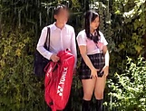 Asian schoolgirl gets her vagina screwed