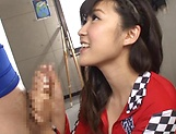 Harukawa Sesera loves handling huge hard cocks picture 11